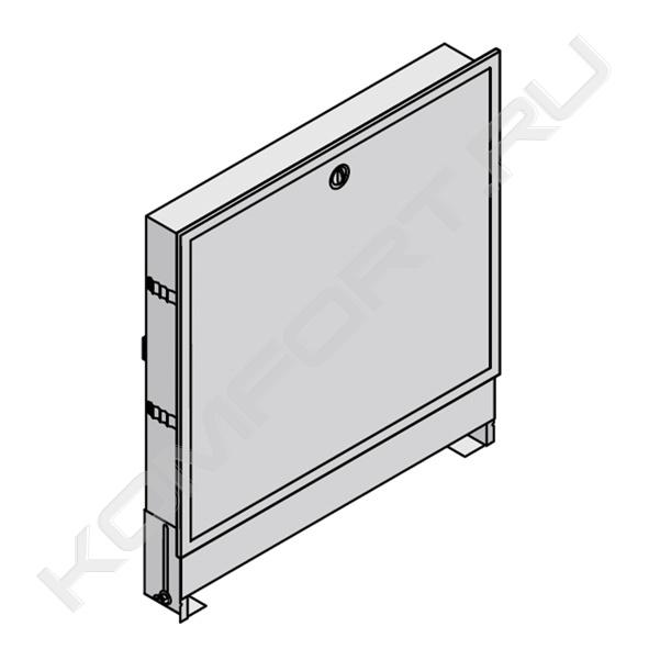 Шкаф коллекторный встраиваемый UFH4, 950х820-910 мм, цвет белый, Uponor...