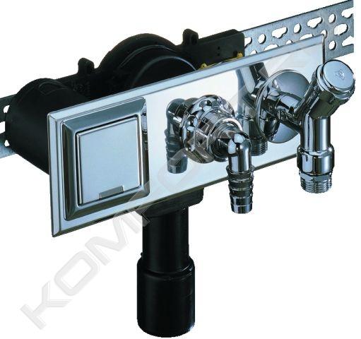 Встроенный сифон для стиральной или посудомоечной машины .  - Мои фотографии - Варочная панель Gunter&Hauer...
