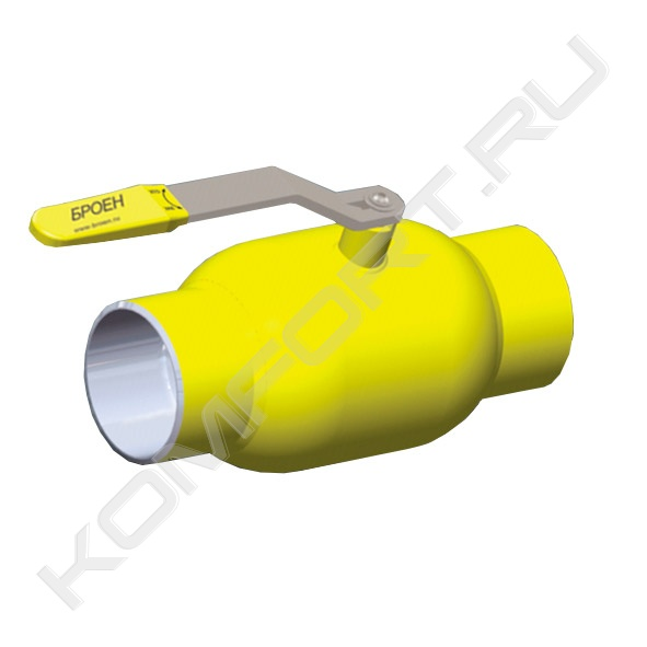 кран шаровой стальной для газа ballomax