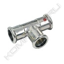 Тройник-пресс тип 24130, Sanha Therm